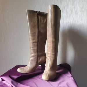 Ladies' tall brown boots
